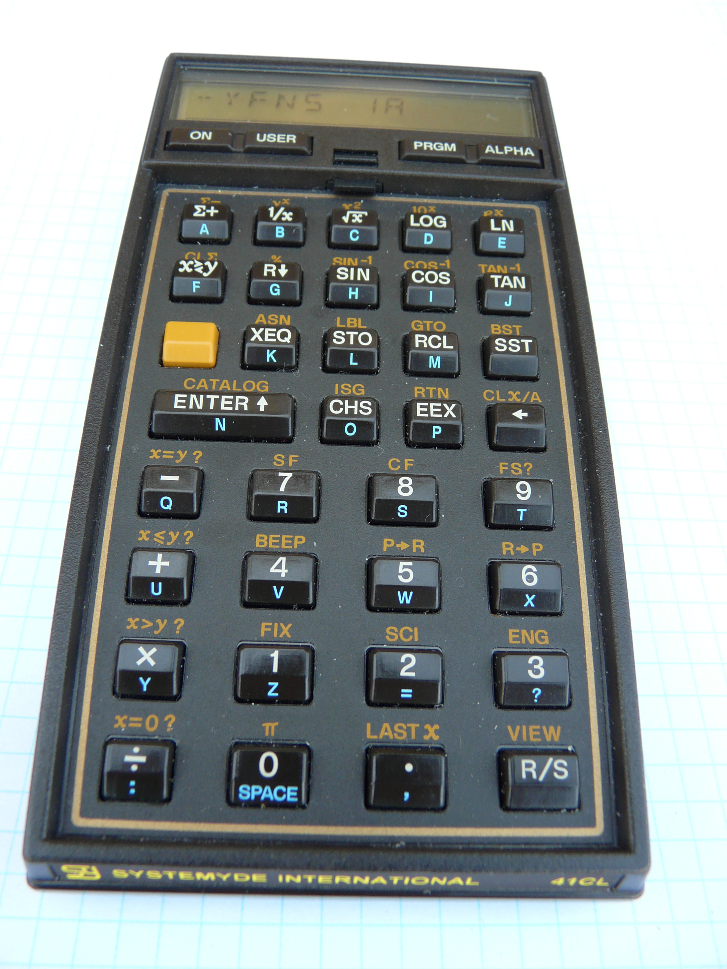 41CL Calculator: Home